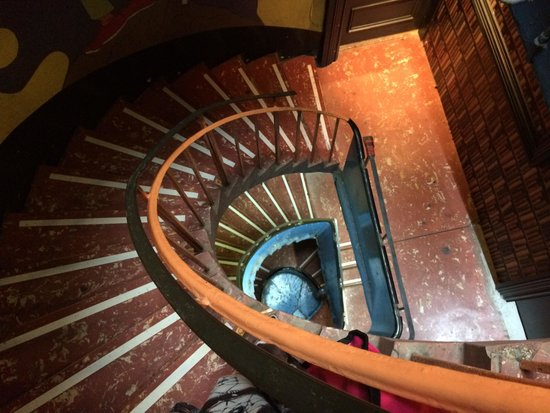 Haggis Hostels: The stairs