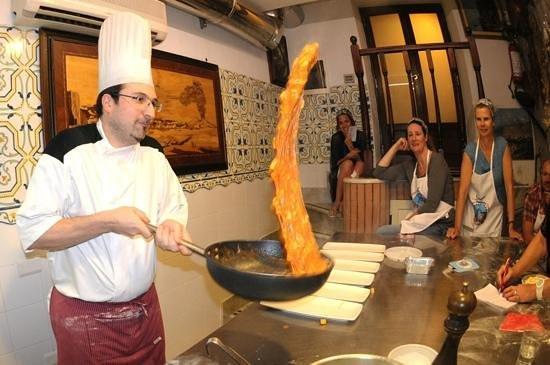 Old Taverna Sorrentina Cooking School : Gnocchi alla Sorrentina