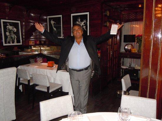 """Restaurant Le Galion : The Patron """"Tony le Magnifique"""""""