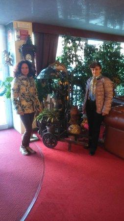 Hotel La Bussola: Мои коллеги