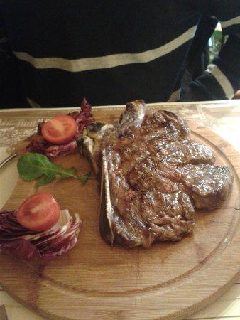 Pizzeria Lo Spuntino: Bisteca à Fiorentina