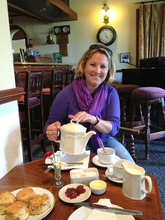 Abbeyglen Castle Hotel: Afternoon Tea which was included