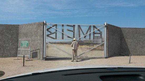 Ameib Ranch : Gate to Ameib