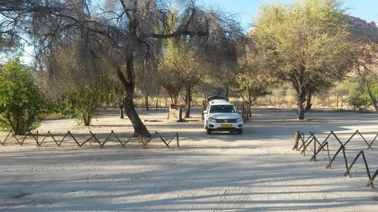 Ameib Ranch : Camping Site
