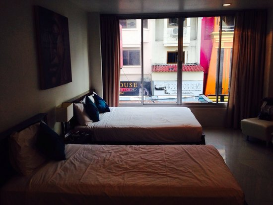 Cafe Siam Guesthouse: Here is the triple room...