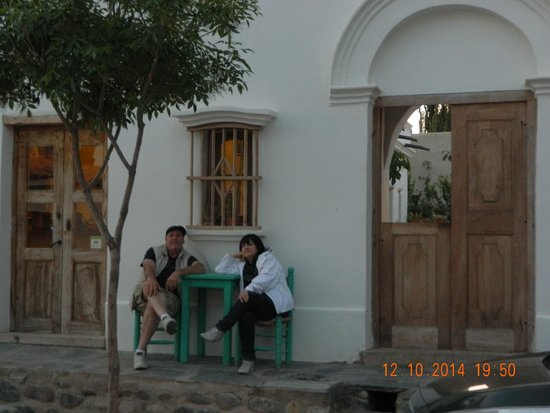 Hosteria Villa Cardon: Frente del hotel