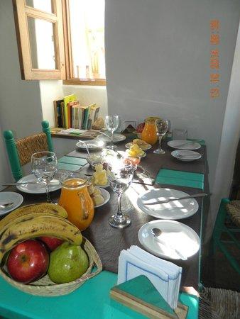 Hosteria Villa Cardon: Desayuno