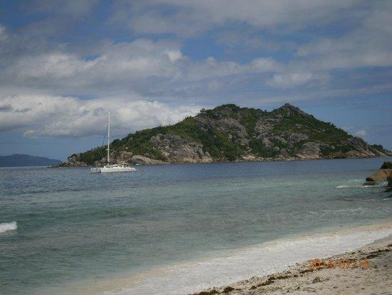 Sisters Islands Private: Visuale dalla spiaggia!!!
