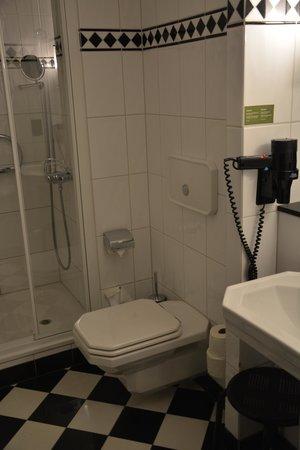 Hotel Victoria : Санузел