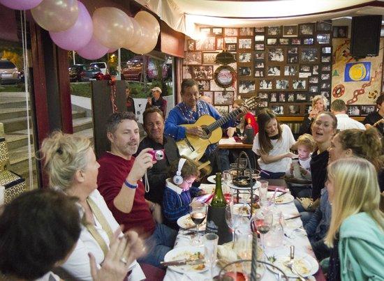Födelsedagskalas på Tango Tapas. Ett minne för livet!