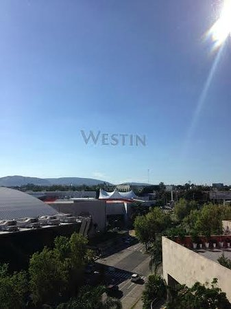 The Westin Guadalajara: View from the room