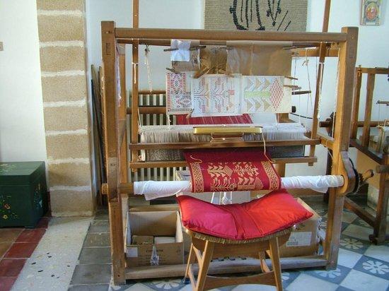 Laboratorio di tessitura a mano