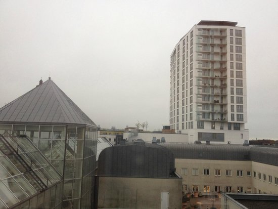 Scandic Triangeln: The view from my room