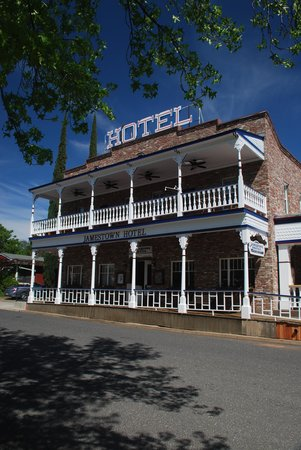 Jamestown, Kaliforniya: Hotel Front