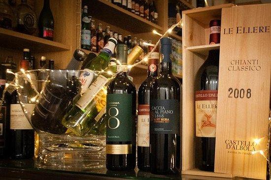 La Locanda Italian Bistro Edinburgh: A selection of our fine wines on display