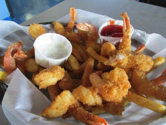 Dirty Al's : shrimp basket