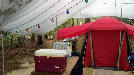 Evolution of our camp site 2013