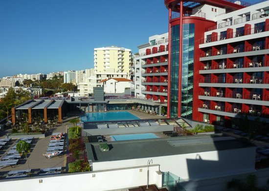 Lince Hotel Madeira: View from our balcony