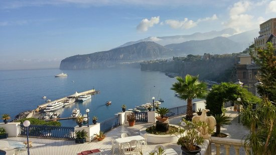Morning sunshine - Picture of Villa Terrazza, Sorrento - TripAdvisor