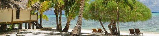 Etu Moana : Absolute Beachfront Villa