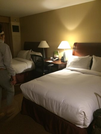 Doubletree by Hilton Hotel Tarrytown: Beds