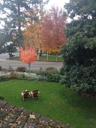 Magnolia Inn: Veranda view