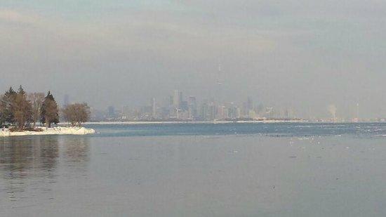 Humber Bay Park no inverno