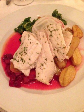 Restaurant Krebsegaarden: Fish main