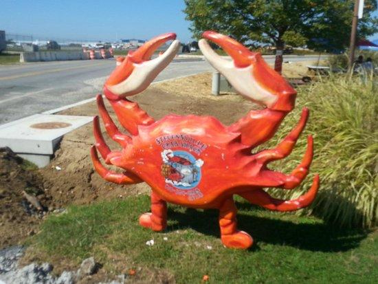 Stevensville Crab Shack: Front entrance