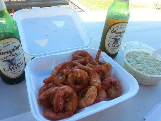 Stevensville Crab Shack: Steamed shrimp