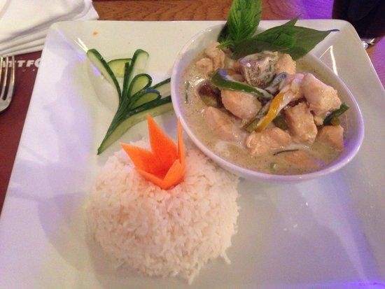 Plattform Restaurants: Grünes Curry