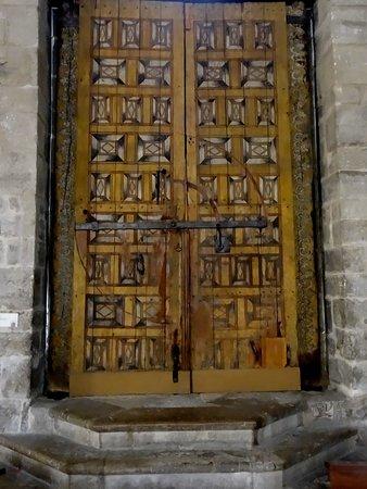 Iglesia de San Nicolas de Bari: inside door