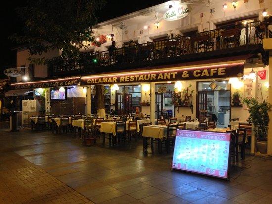 Calamar Restaurant : Общий вид.