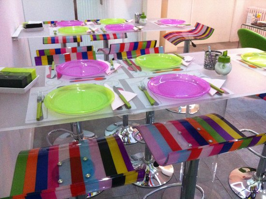 The Fresh Glamour Accommodation: Sala colazione