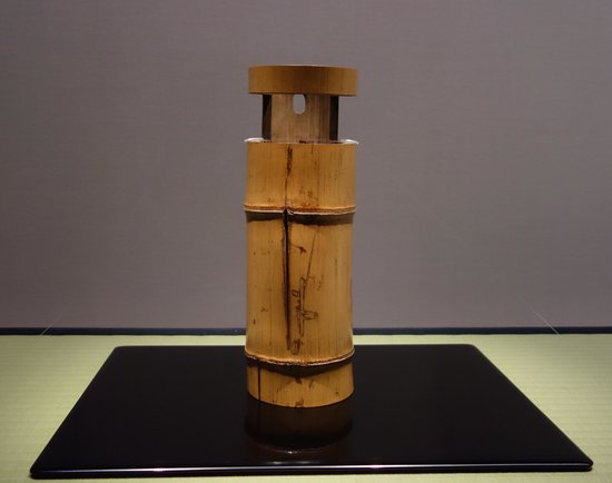Flower Vase Made Of Bamboo Picture Of Nezu Museum Minato