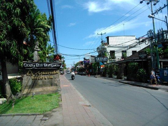 ANANDA RESORT: Main Road