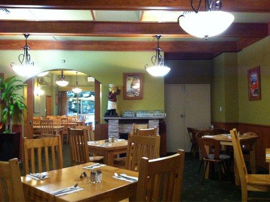 Restaurant interior picture of harmonie german
