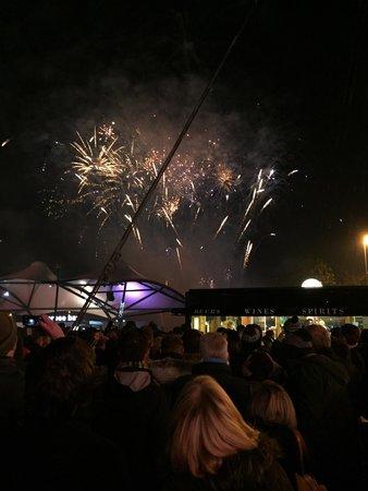 Etihad Stadium: Bonfire night in city square !!