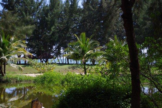 Ho Tram Beach Boutique Resort & Spa: le vue de notre bungalow