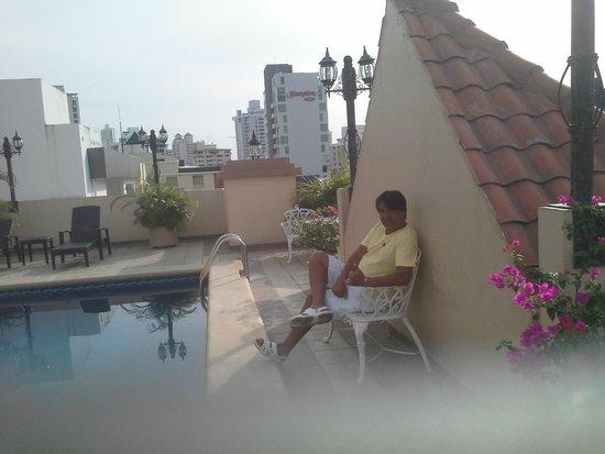 Hotel Coral Suites: Vista do terraço 4