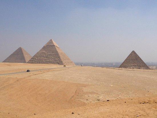 Mikerinos Pyramid: The 3 Great Pyramids