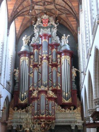 Grote Kerk : Haarlem facciata dell'organo