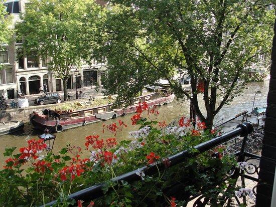Bij Tijn op de Gracht: Another view from our room
