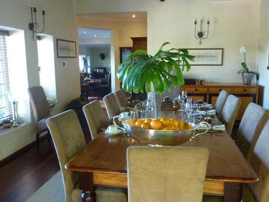 Ikhaya Safari Lodge: Great to have Breakfast there!