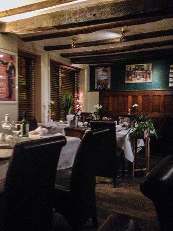 Sebastians: Part view of restaurant