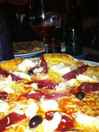 L'Escenari de Pizzes : Pizza bacalao