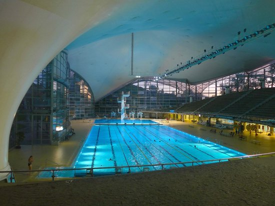 munich olympic park swimming pool picture of olympiapark munich tripadvisor. Black Bedroom Furniture Sets. Home Design Ideas