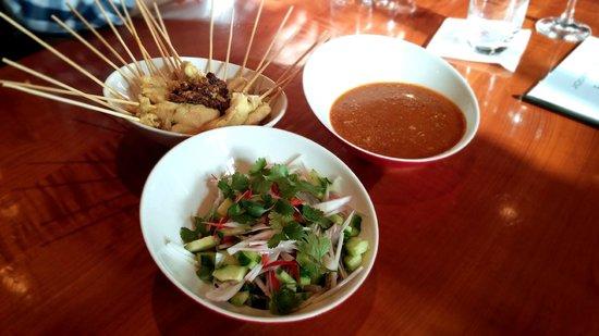Mangostin Asia: Kochkurs - Satey Spieße