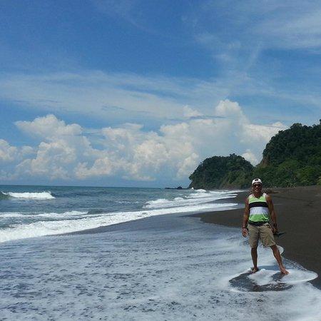 Sandpiper Hotel : Beautiful black beach