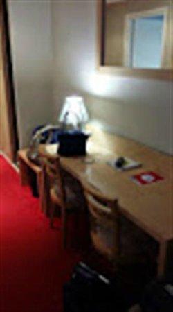 Le Regina Hotel: La table bureau